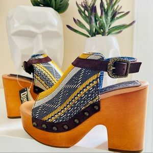New Dingo Corona Platform boho Sandal shoes
